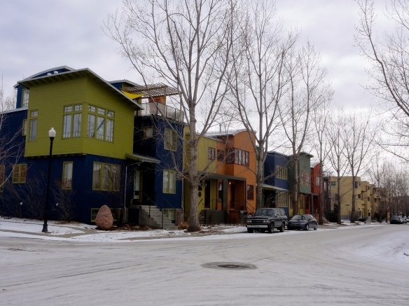 Unique Architecture in the Prospect neighborhood of Longmont Colorado
